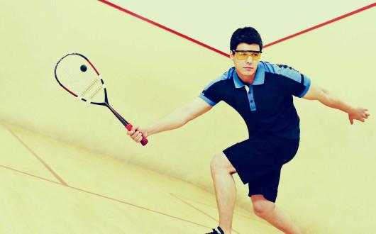 Klik op de foto voor een virtuele impressie van  het squashgedeelte